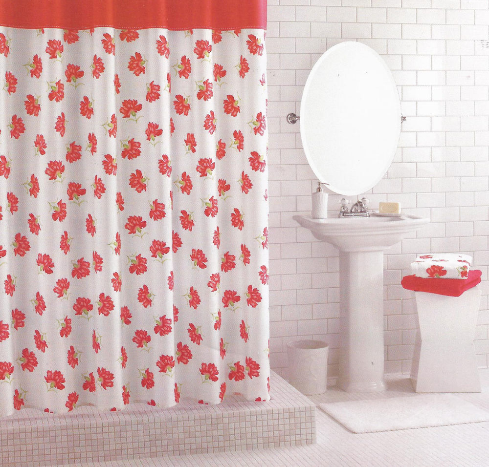 Funky Shower Curtains | Cheap Shower Curtains | Floral Shower Curtain