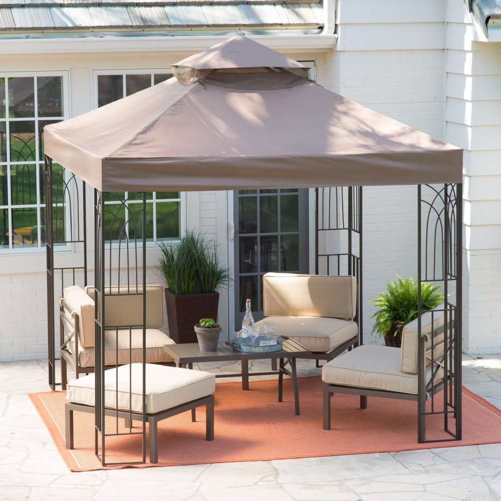 Gazebo Walmart | Screened Gazebo | Screen Gazebo Home Depot
