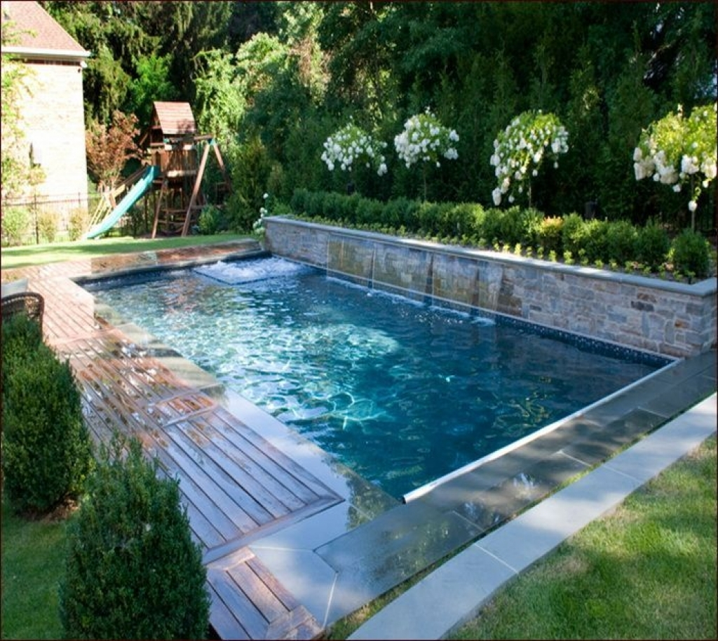 Half Inground Above Ground Pools | Semi Inground Pool Ideas | Inground Above Ground Swimming Pools