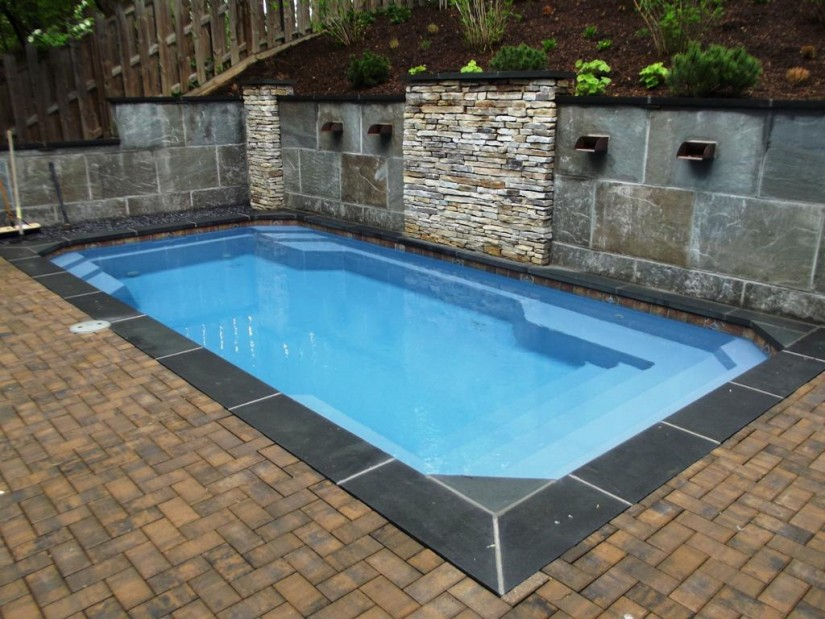 Half Inground Pools | Above Ground Inground Pool | Semi Inground Pool Ideas