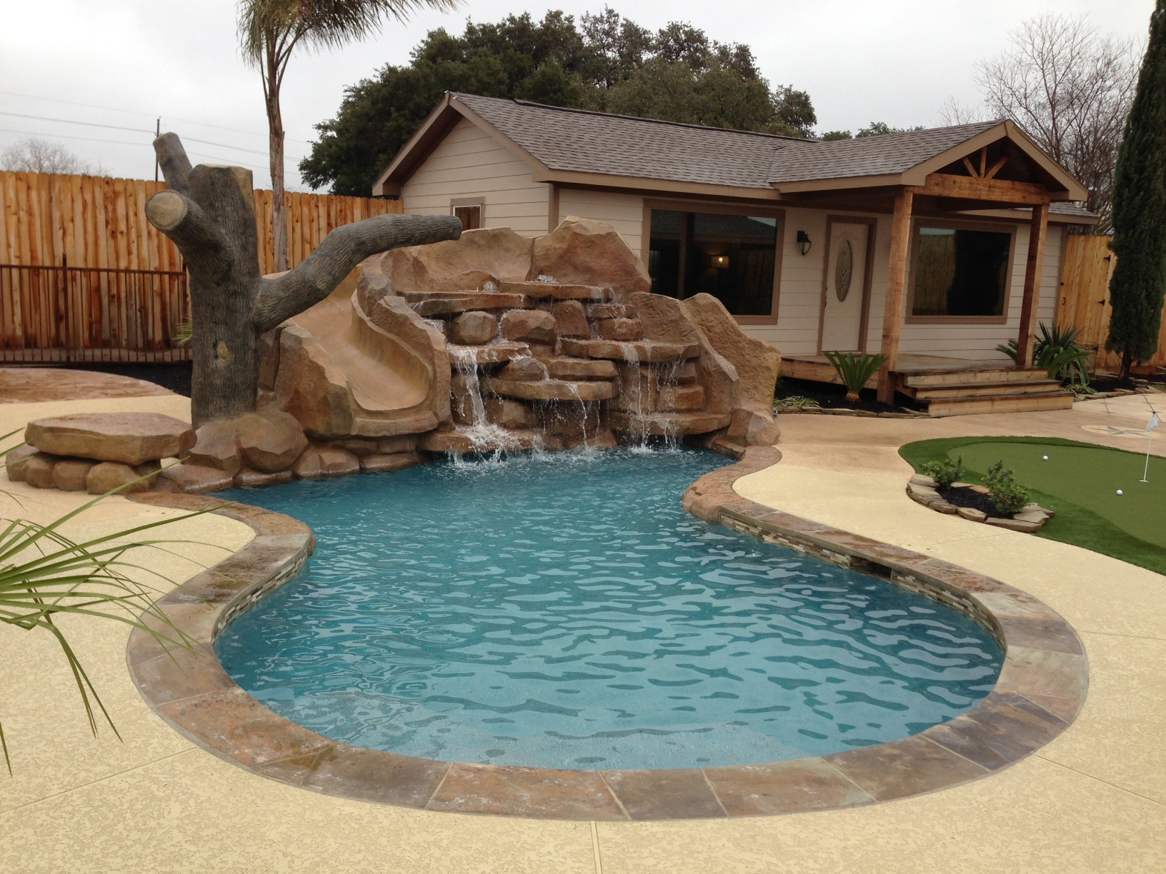 Half Inground Pools | Small Semi Inground Pools | Semi Inground Pool Ideas