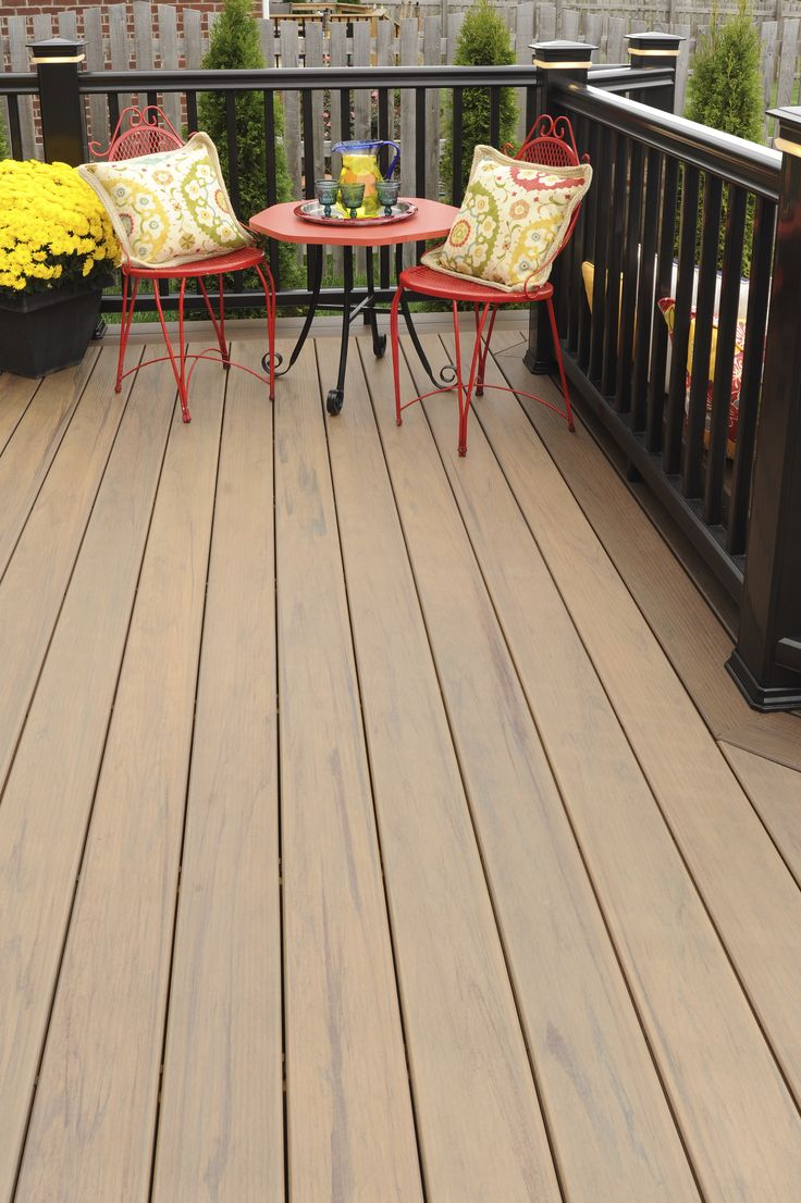 Hardwood Decking Boards | Tigerwood Decking | Faux Wood Decking