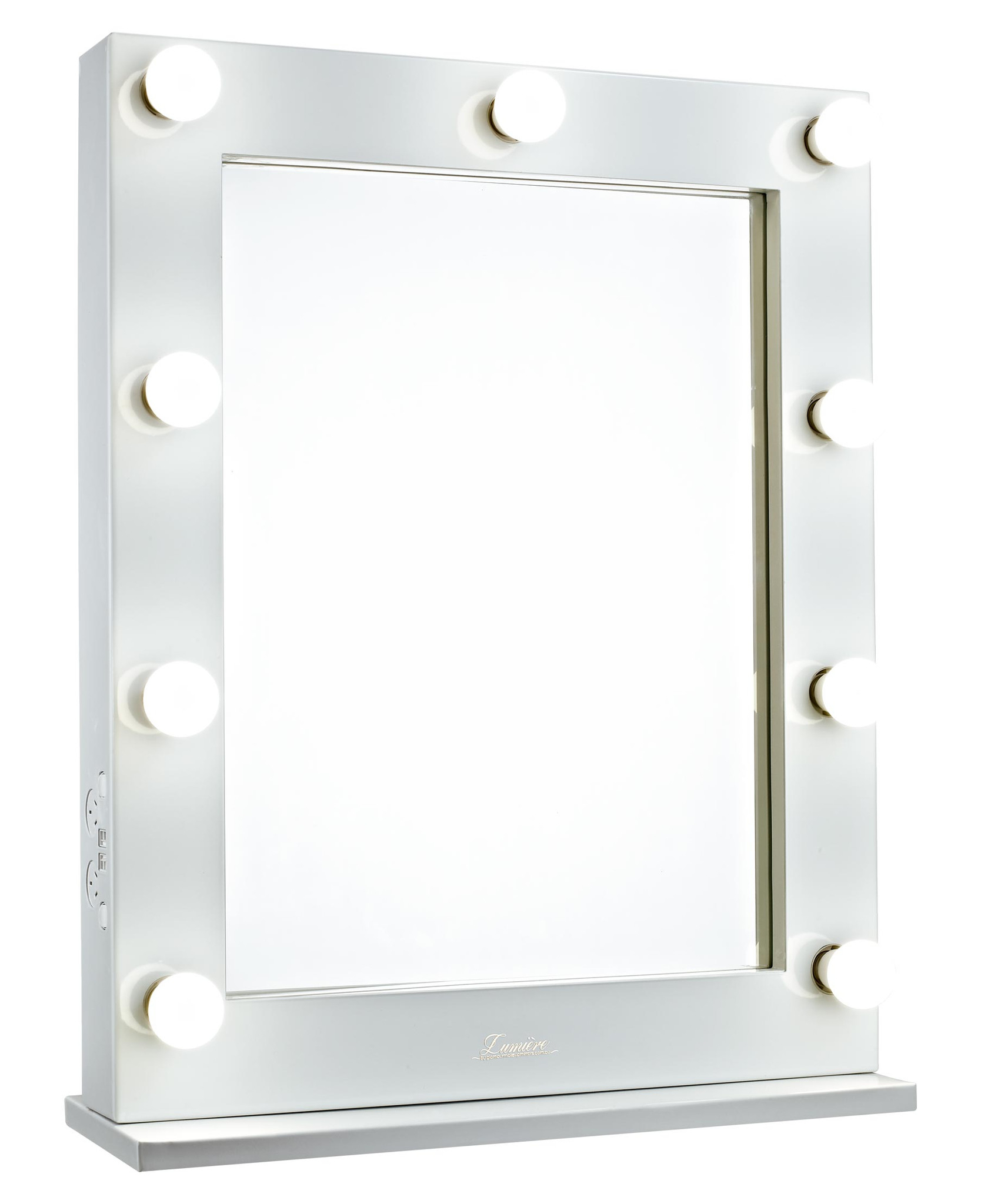 Hollywood Glamour Mirror | Hollywood Vanity Mirror with Lights | Broadway Lighted Vanity Desk