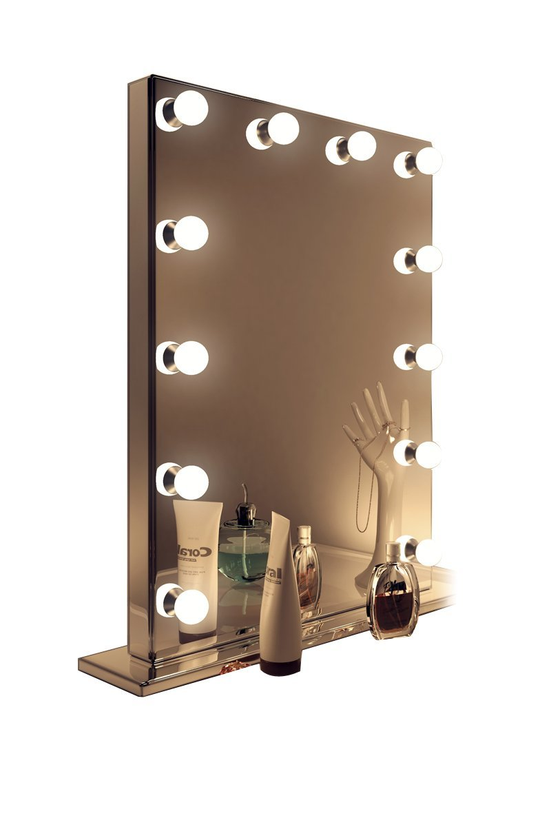 Hollywood Lighted Makeup Mirror | Illuminated Hollywood Mirrors | Hollywood Vanity Mirror with Lights