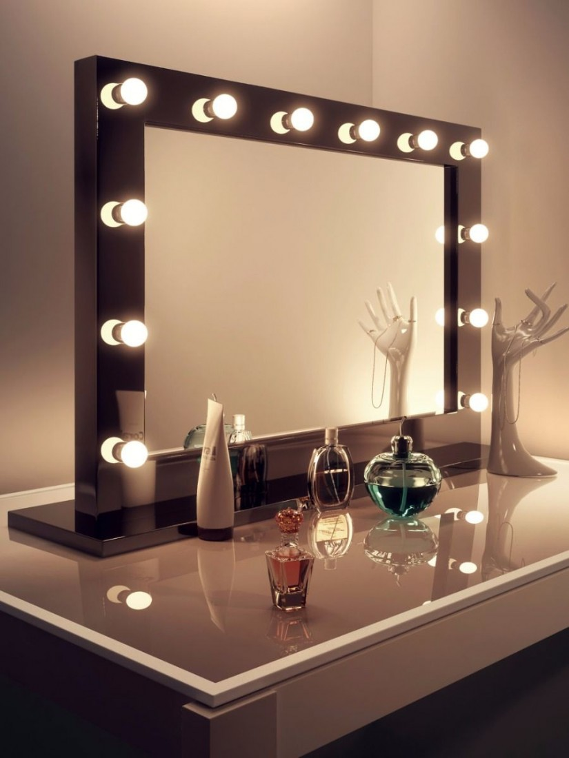 Hollywood Style Mirror With Lights | Hollywood Vanity Mirror With Lights | Vanity Girl Hollywood Dupe