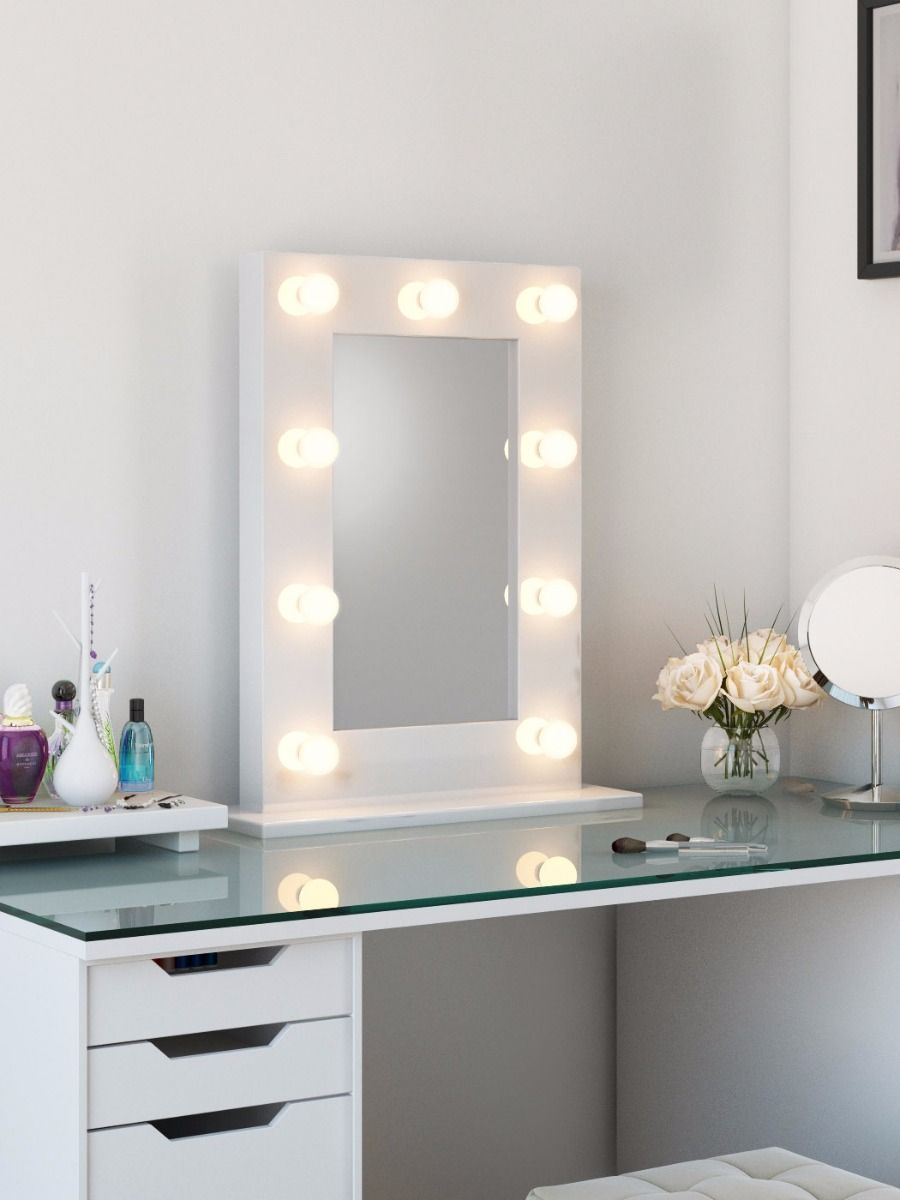 Hollywood Vanity Mirror with Lights | Led Hollywood Mirror | Vanity Fair Mirror