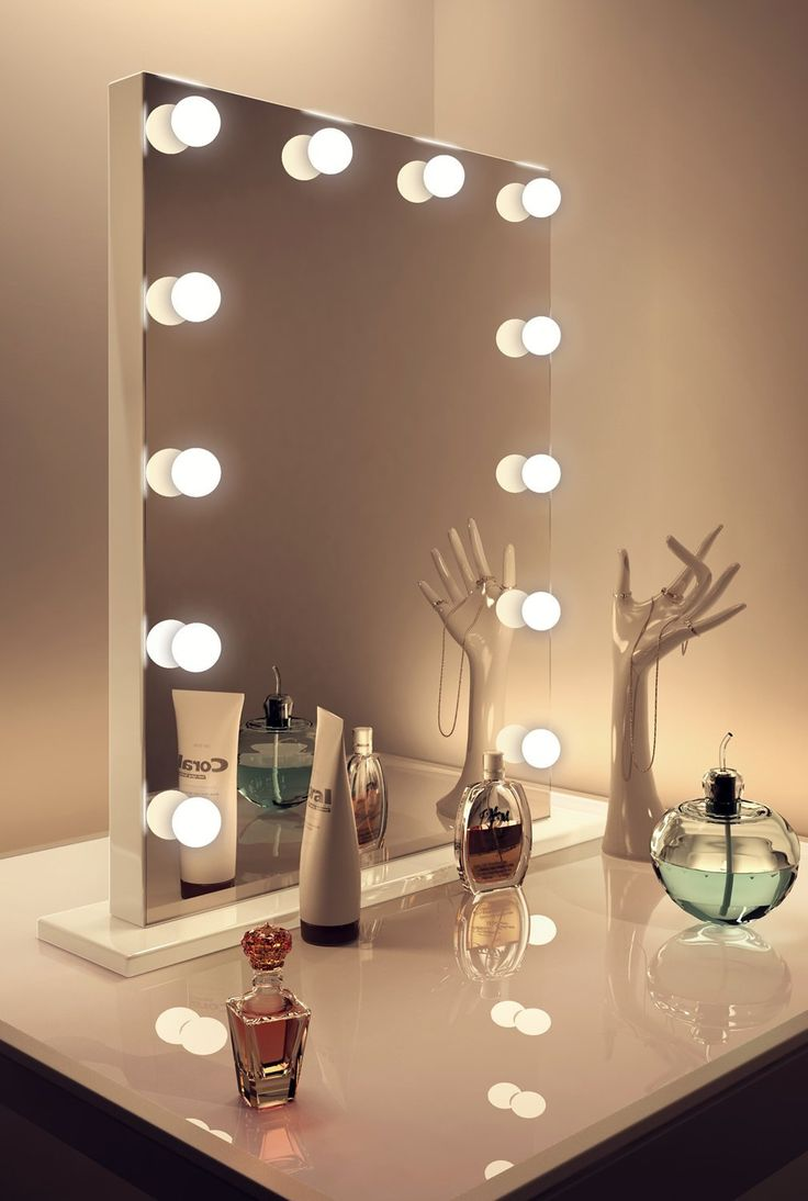 Hollywood Vanity Mirror with Lights | Lighted Vanity Mirror Hollywood | Hollywood Lighted Makeup Mirror