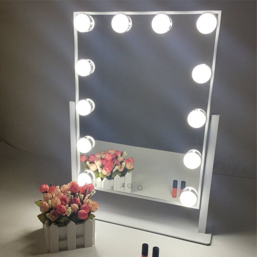 Hollywood Vanity Mirror With Lights | Makeup Vanity Lights Mirror | Lighted Makeup Vanity Mirror