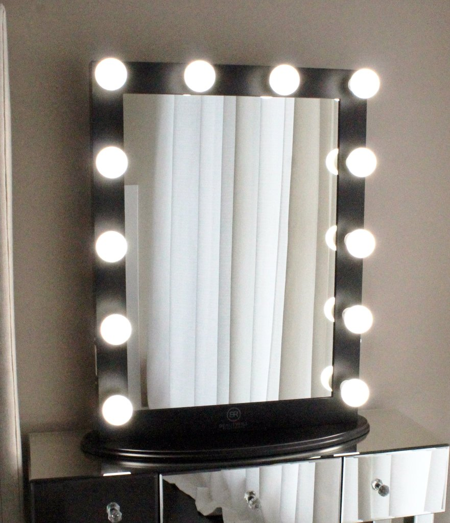 Hollywood Vanity Mirror with Lights | Professional Lighted Makeup Mirror | Vanity Fair Mirror