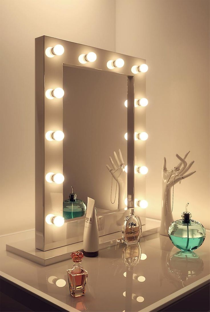 Hollywood Vanity Mirror With Lights | Professional Lighted Makeup Mirror | Vanity Girl Hollywood Mirror For Sale