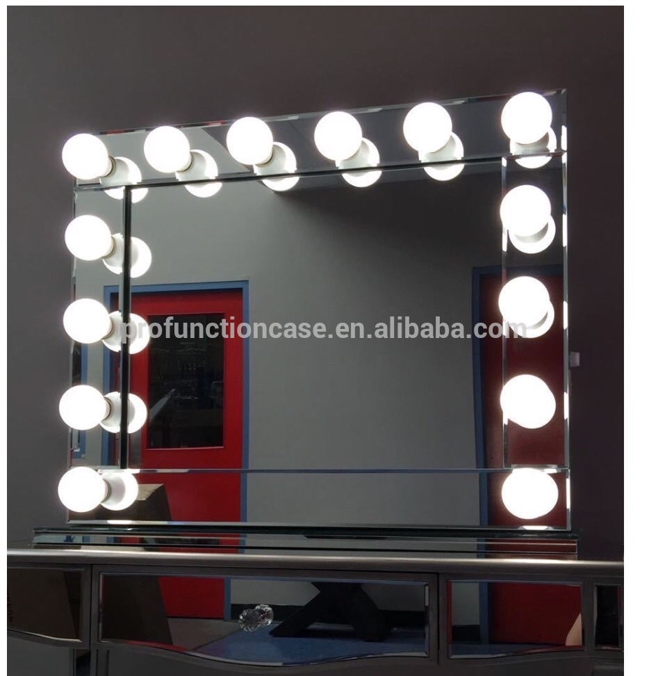 Hollywood Vanity Mirror with Lights | Vanity Fair Mirror | Makeup Vanity Mirror with Lights