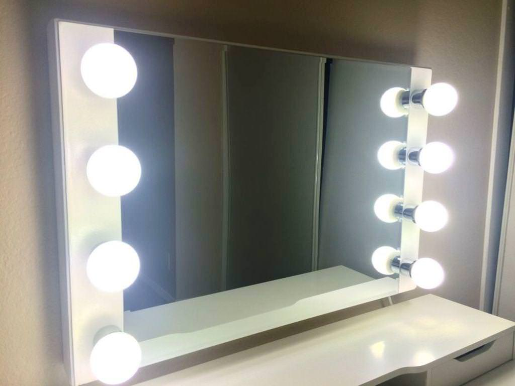 Hollywood Vanity Mirrors | Vanity Girl Hollywood Dupe | Hollywood Vanity Mirror with Lights