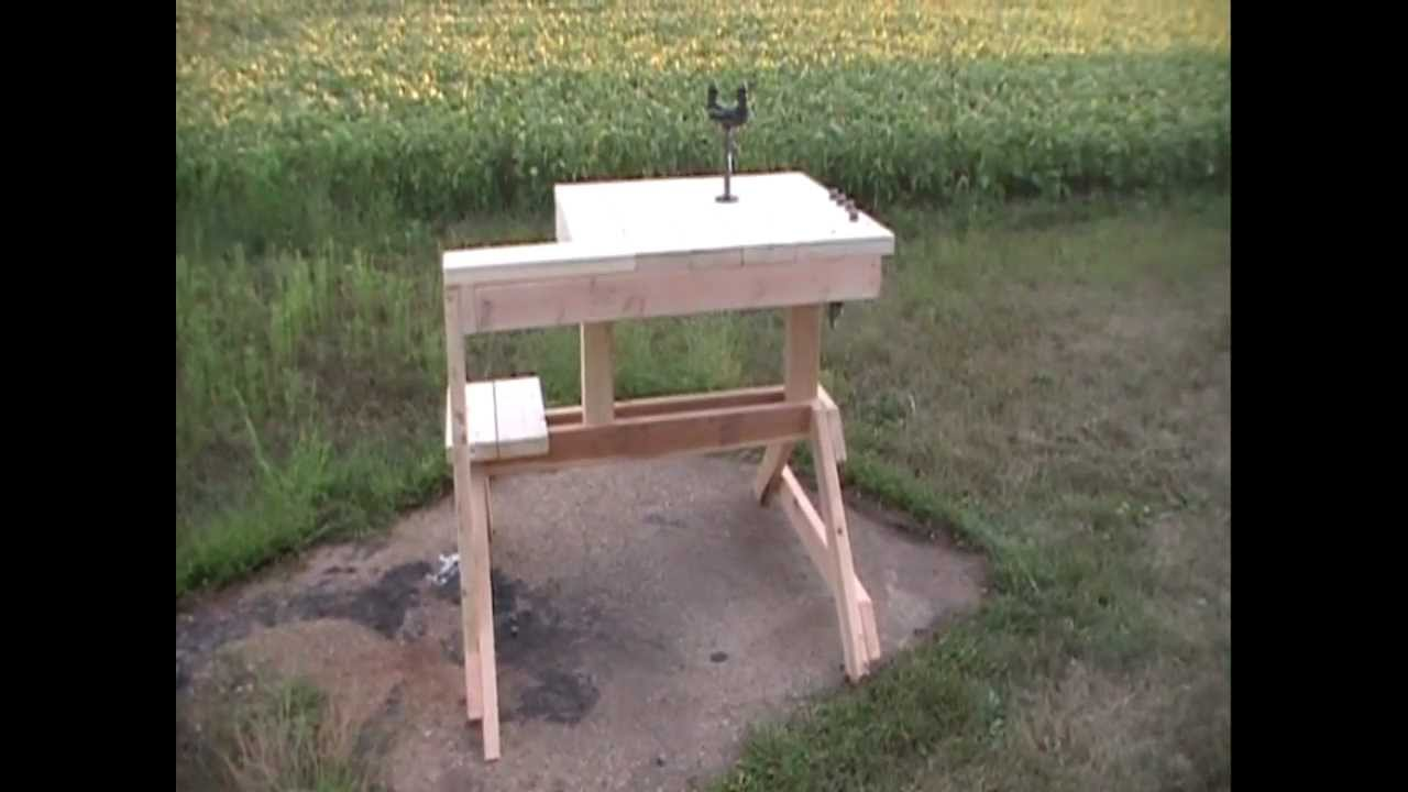 How to Build A Shooting Bench with Precision Point: Homemade Bench Rest | How To Make A Rifle Bench Rest | How To Build A Shooting Bench