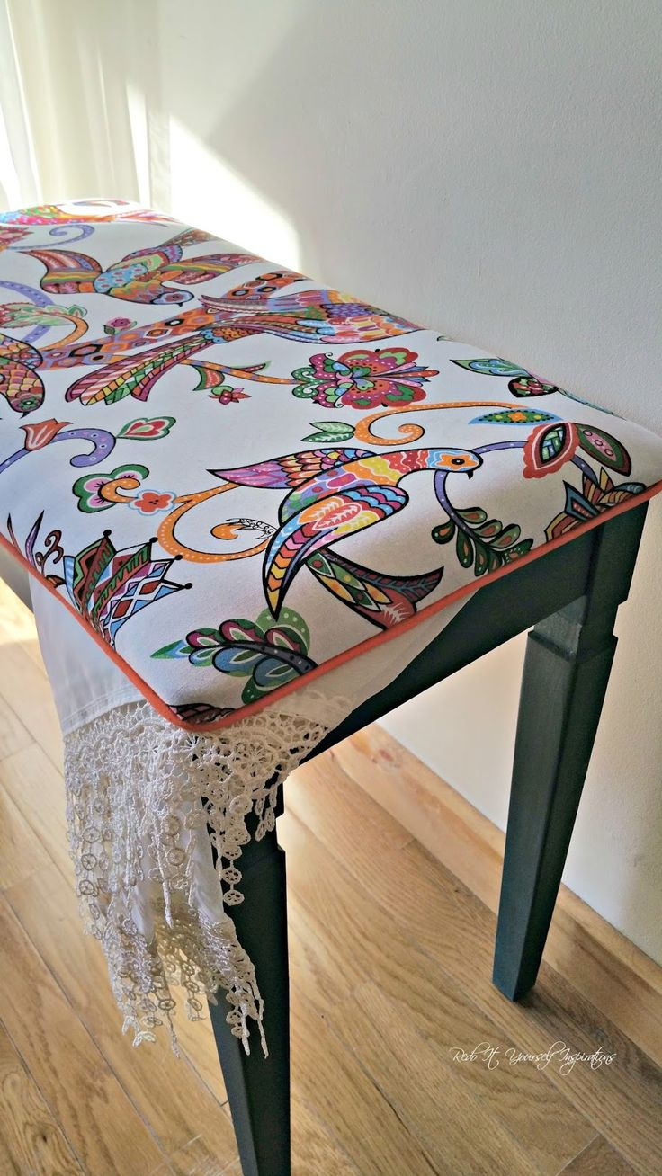 Hope Chest Cushion | Indoor Bench Cushion Covers | Piano Bench Cushion