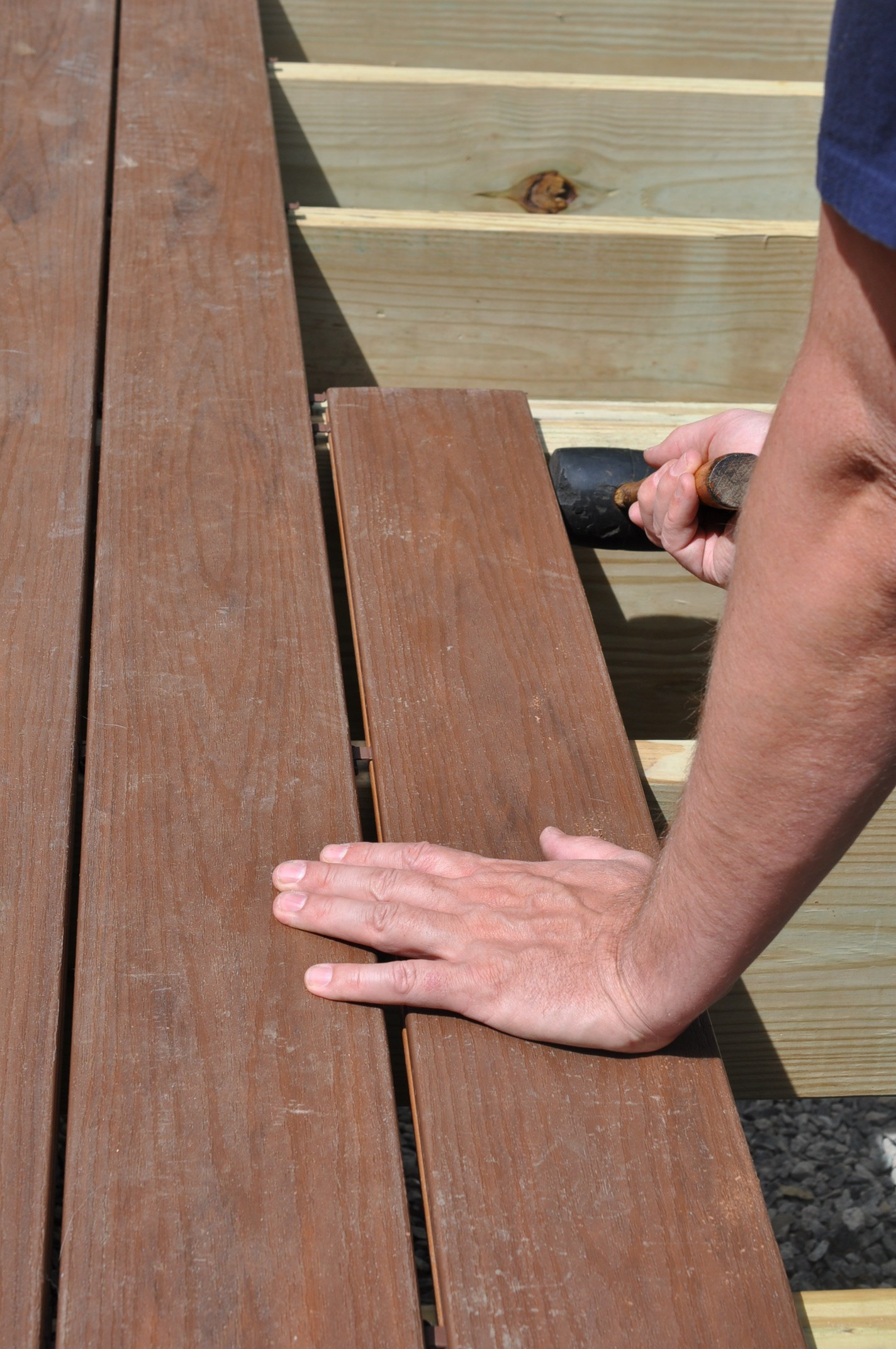 How to Attach Composite Decking | Installing Composite Decking | Trex Decking Hidden Fasteners