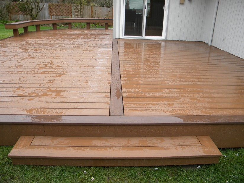 How To Attach Composite Decking | Trex Deck Installation | Installing Composite Decking
