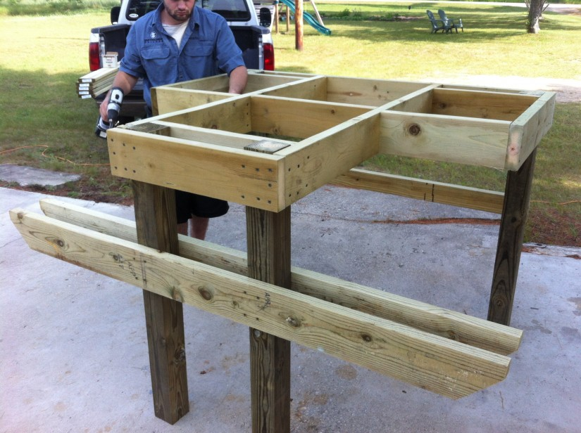 How To Build A Shooting Bench | Concrete Shooting Bench | Benchrest Table