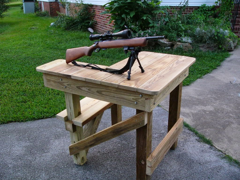 How to Build A Shooting Bench | Wood Shooting Bench Plans | Target Shooting Bench