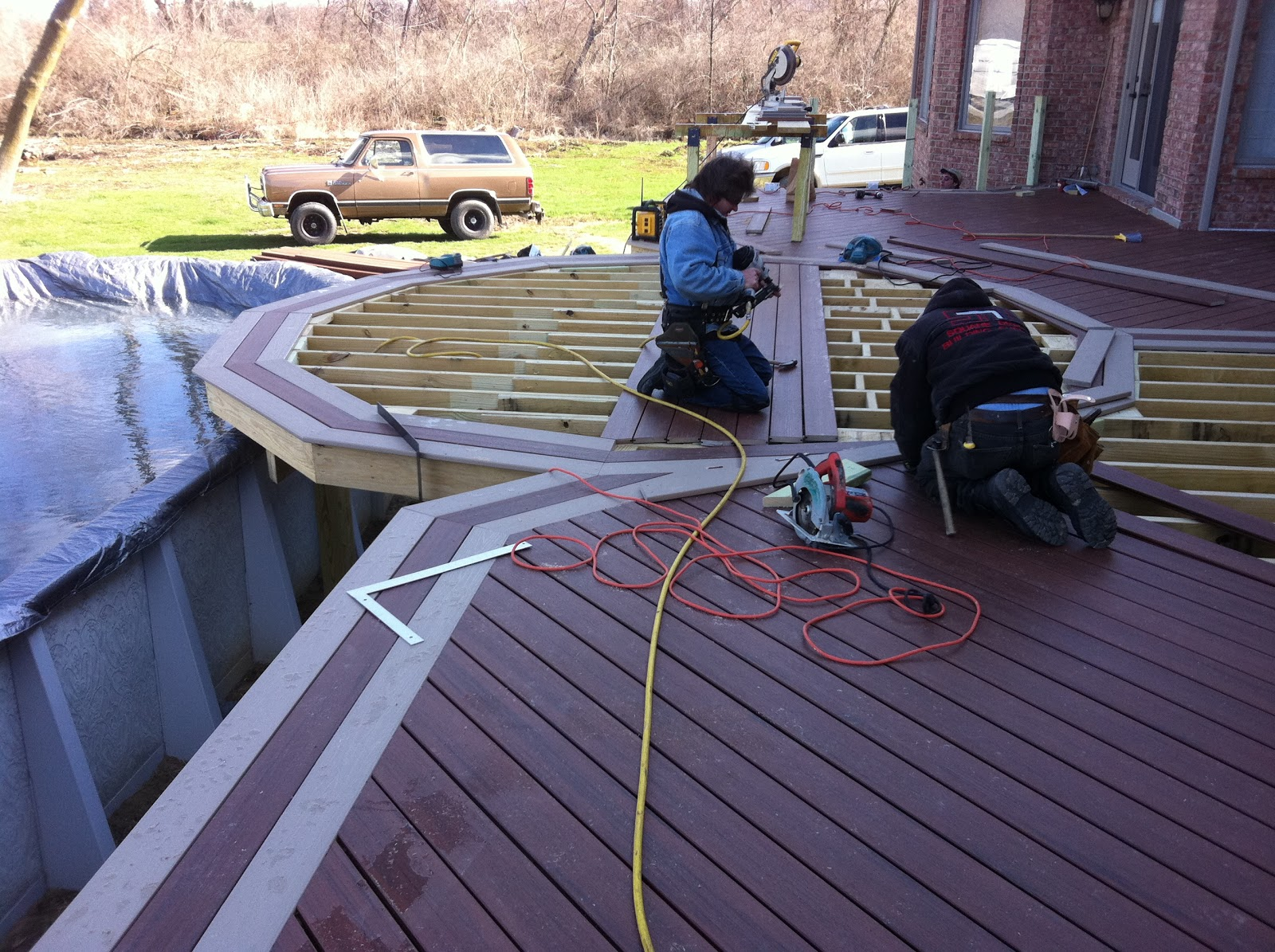 How to Build A Trex Deck | Installing Composite Decking | Trex Decking Specs