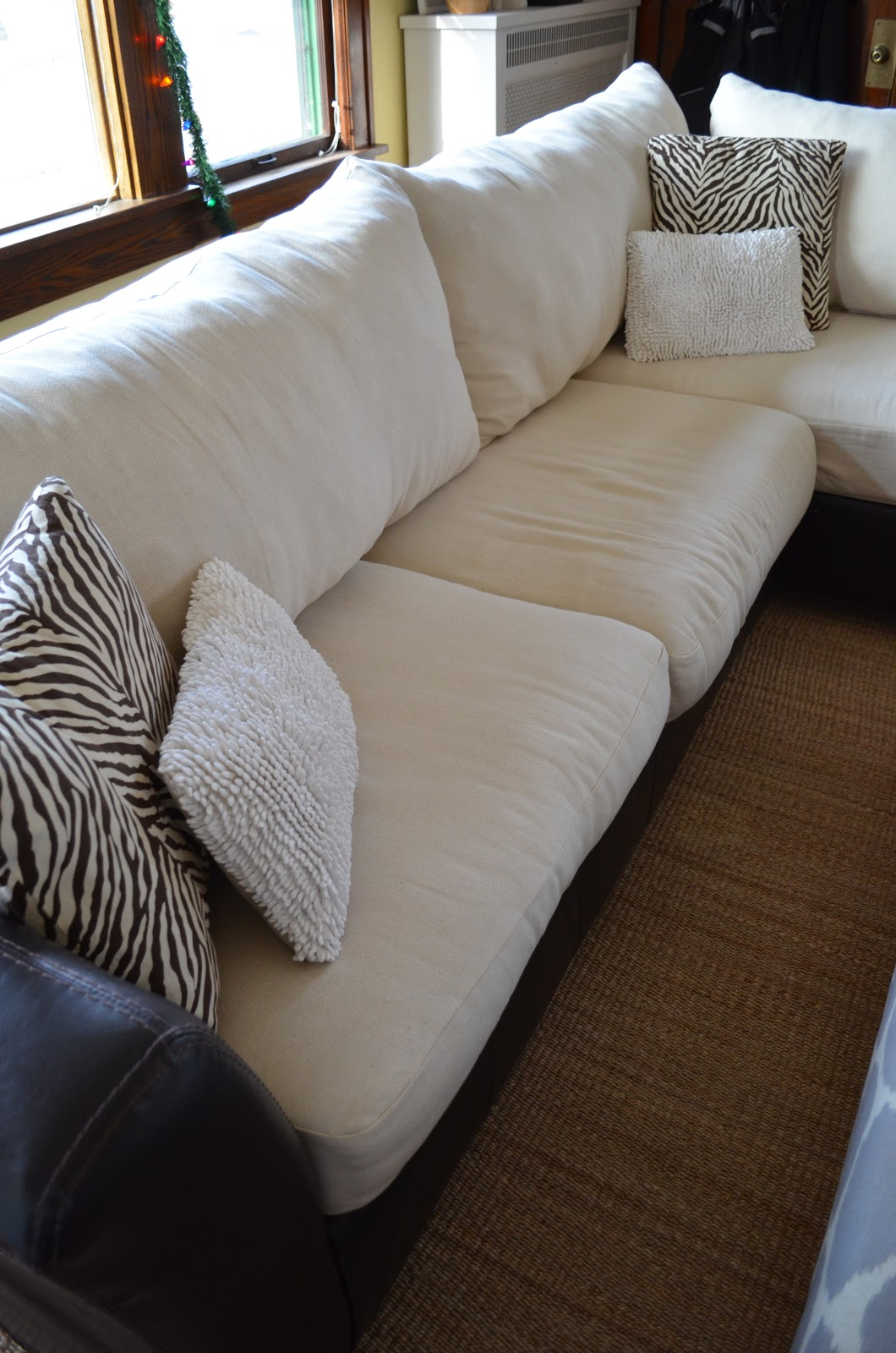 How to Fix A Sinking Couch | Cushion Stuffing | Restuffing Couch Cushions