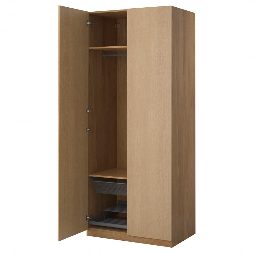 Storage modern closet cabinet design with ikea wardrobe - Ikea armoire with mirror ...