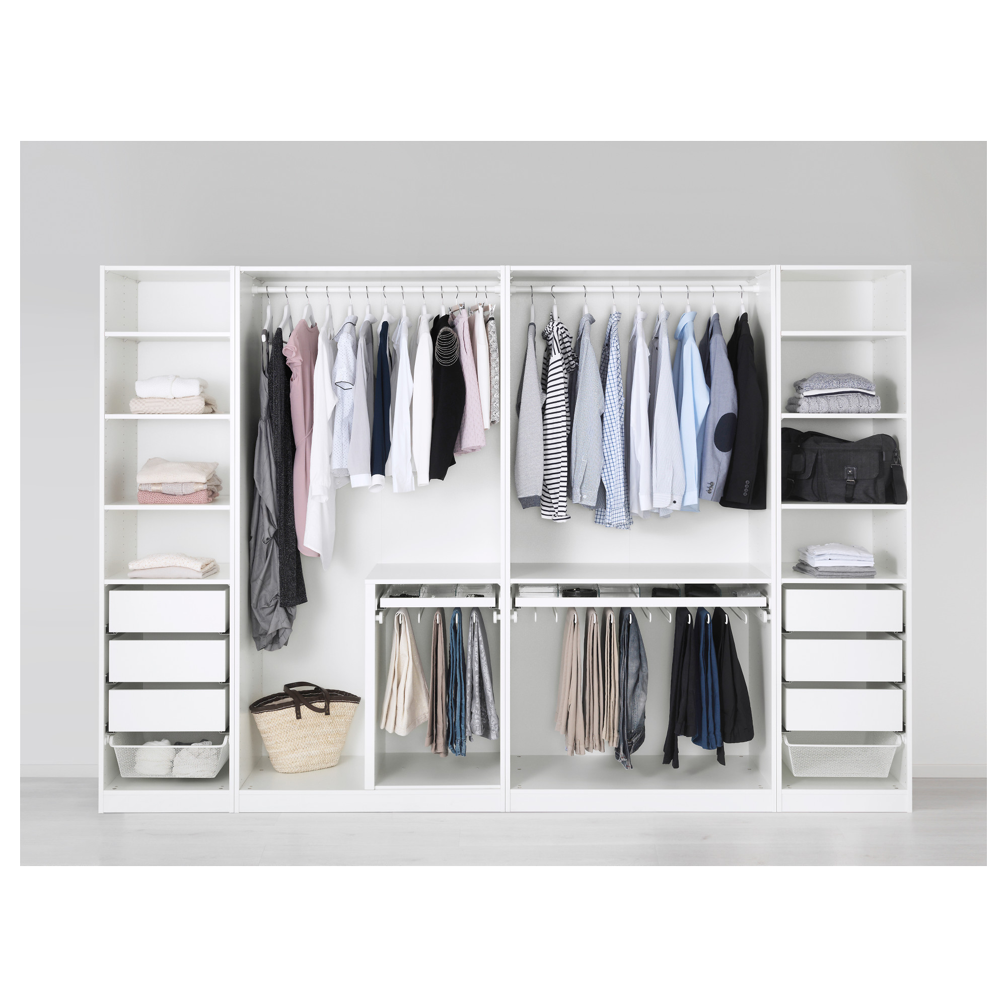 Ikea Wardrobes for Small Spaces | Ikea Pax Closet | Ikea Wardrobe