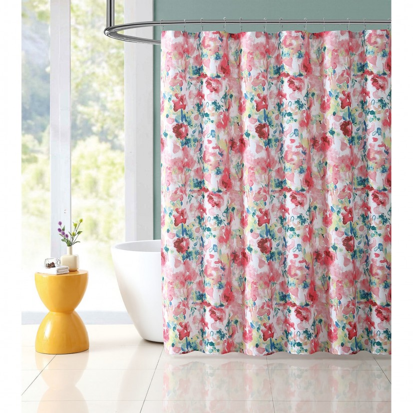 India Shower Curtain | Floral Shower Curtain | Tapestry Shower Curtain