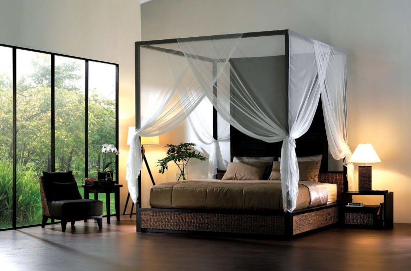 Indian Canopy Bed Curtains | Canopy Bed Curtains | Canopy Curtains For Twin Bed