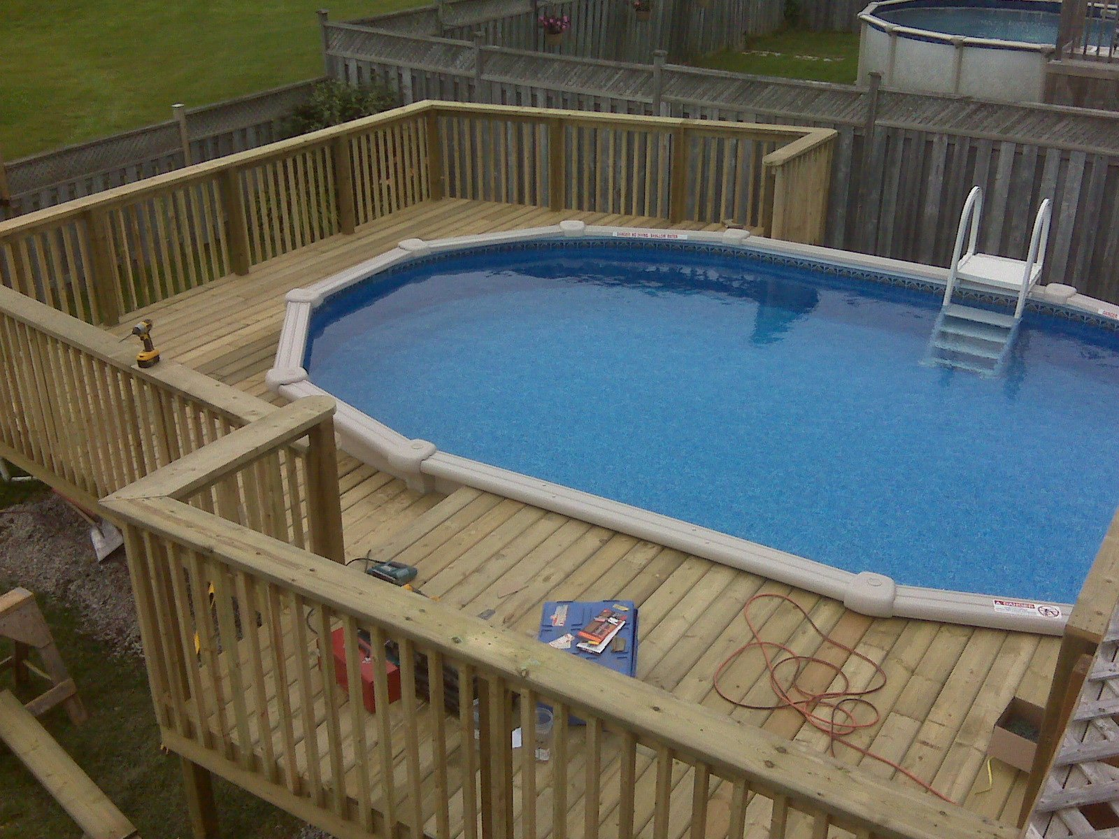Ideas Decks For Above Ground Pools