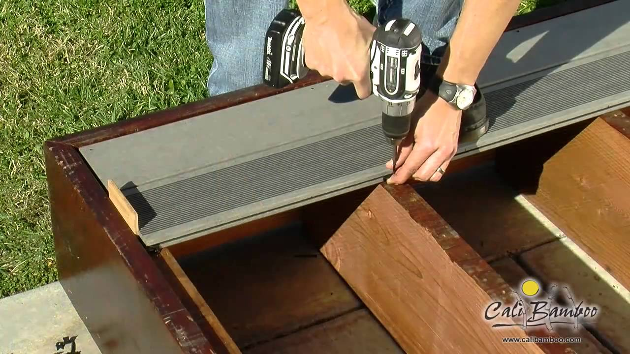 Installing Composite Decking | Choicedek Installation | Laying Decking