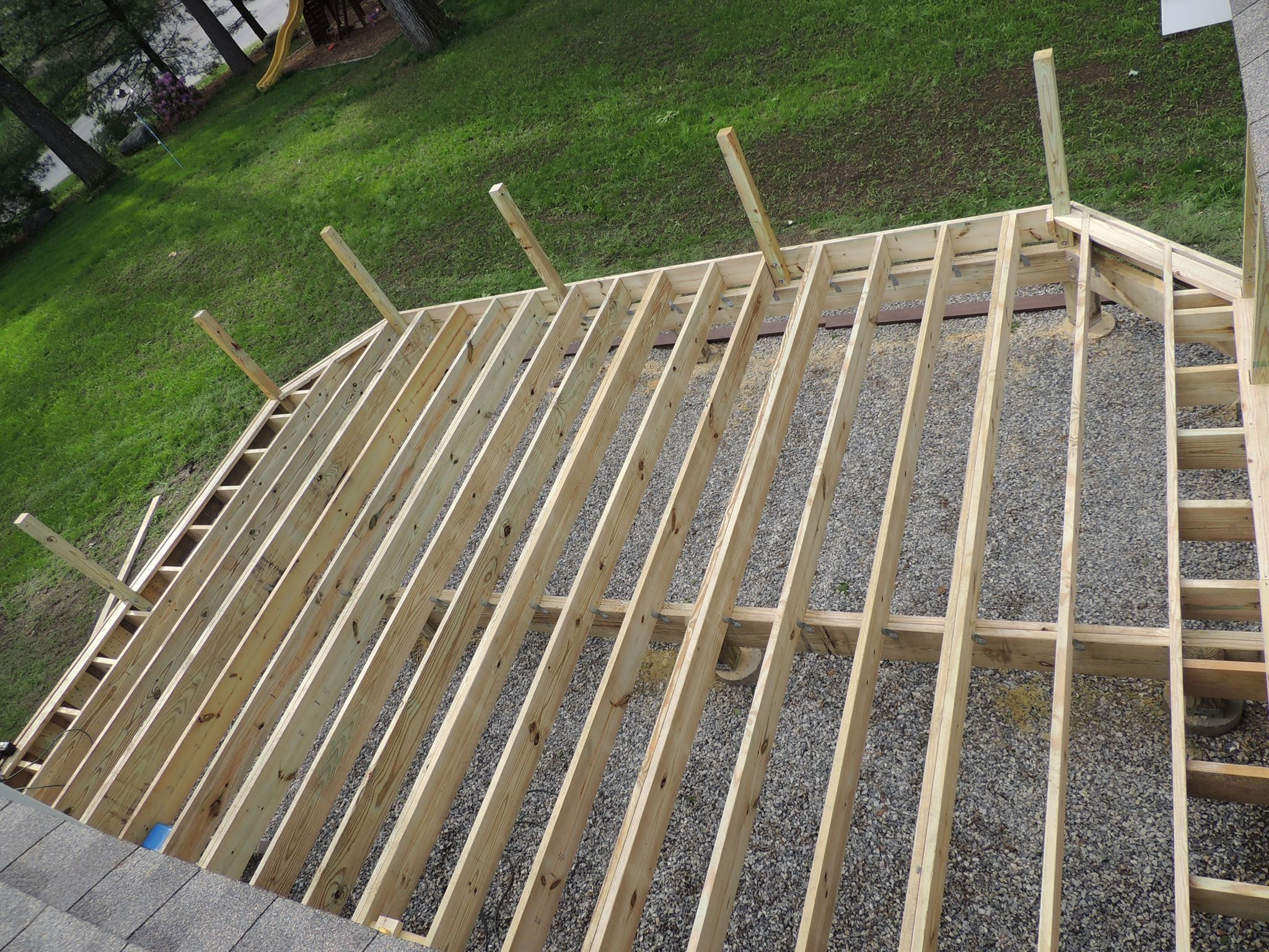 Installing Composite Decking | Composite Decking for Stairs | Lowes Deck Installation