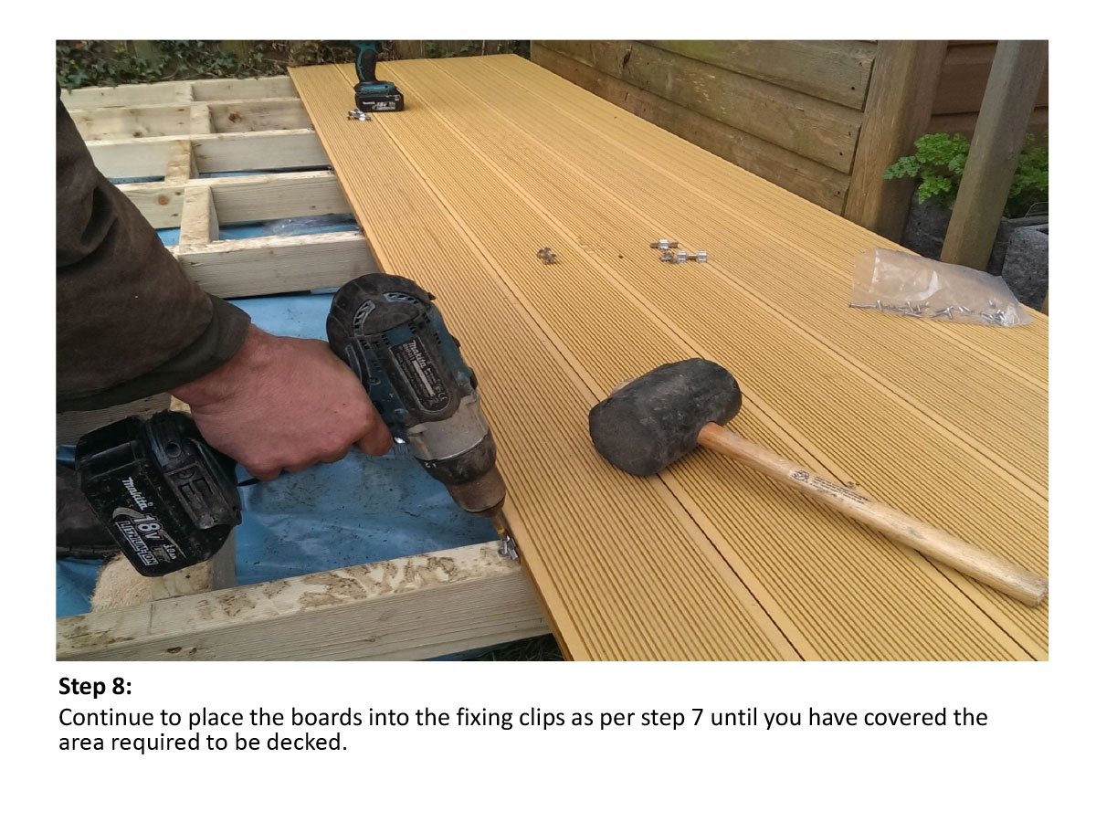 Installing Composite Decking | Does Composite Decking Expand | Trex Composite Wood