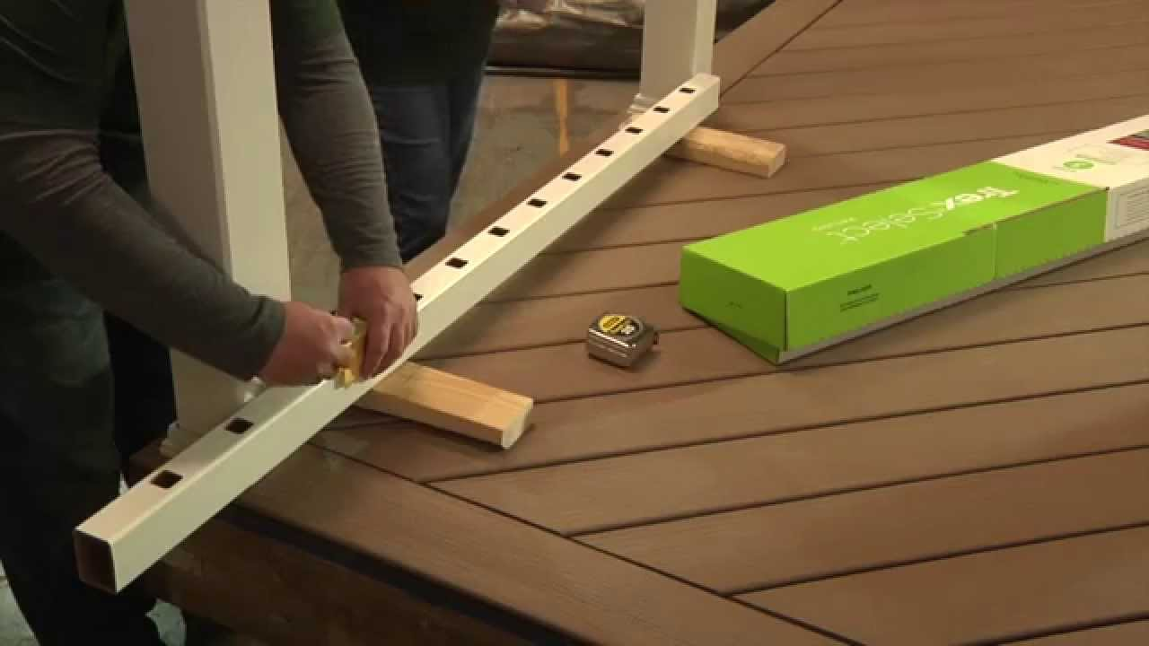 Installing Composite Decking | Lowes Deck Installation | How to Attach Composite Decking