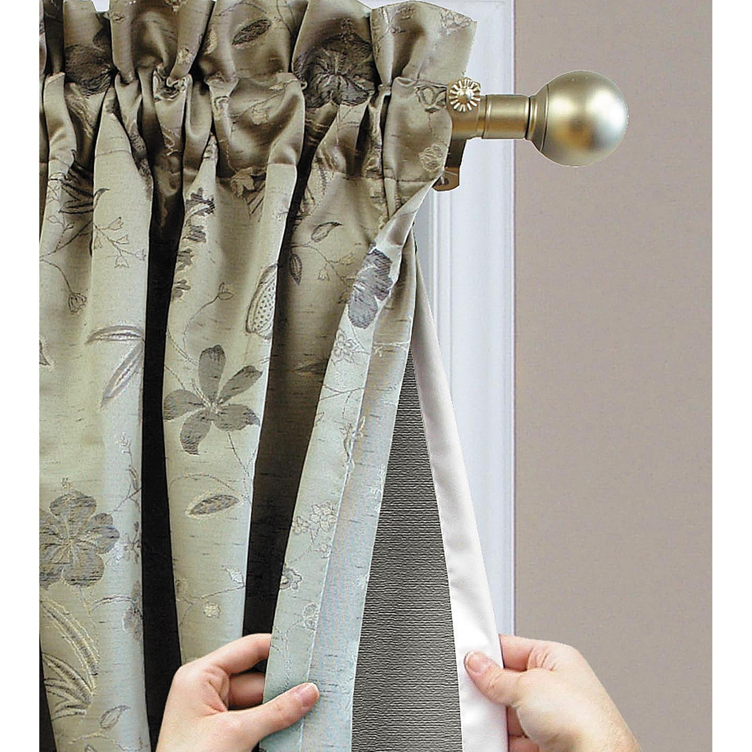 Insulated Grommet Curtains | Foam Backed Drapes | Thermal Insulated Curtains