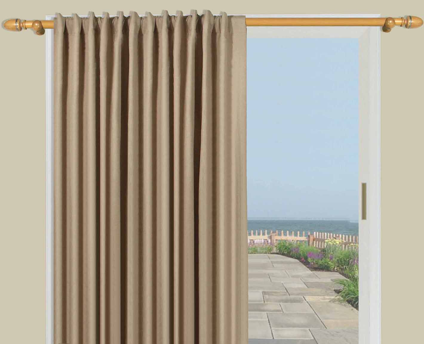 Insulated Patio Door Drapes | Insulated Curtains and Drapes | Thermal Insulated Curtains