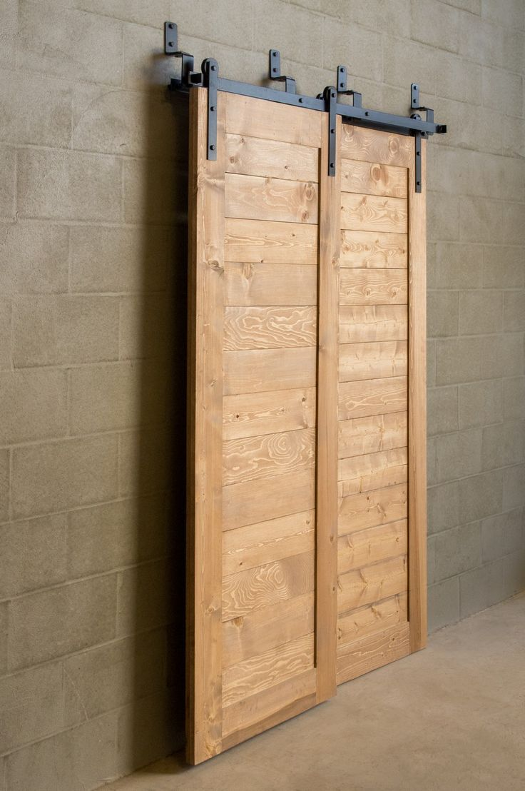 Interior Sliding Barn Door Kit | Bypass Barn Doors | Sliding Shed Door Kit