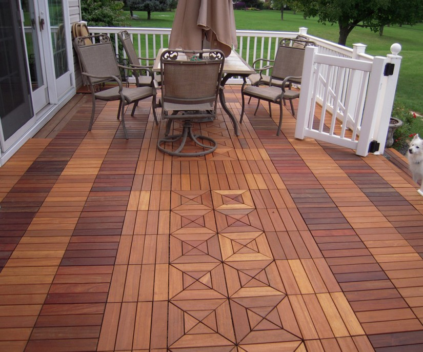 Ipe Deck Tiles | Deck Tile | Interlocking Deck Tiles