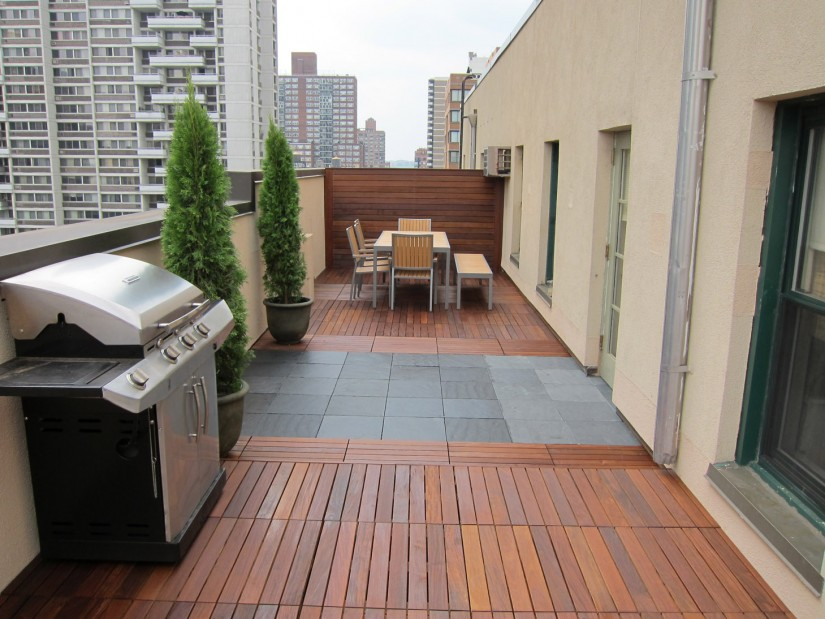Ipe Deck Tiles | Teak Decking Tiles | Decktiles