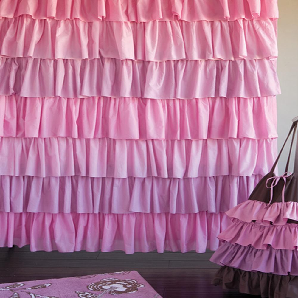 Jcpenney Purple Curtains | Ruffle Curtains Walmart | Ruffle Blackout Curtains