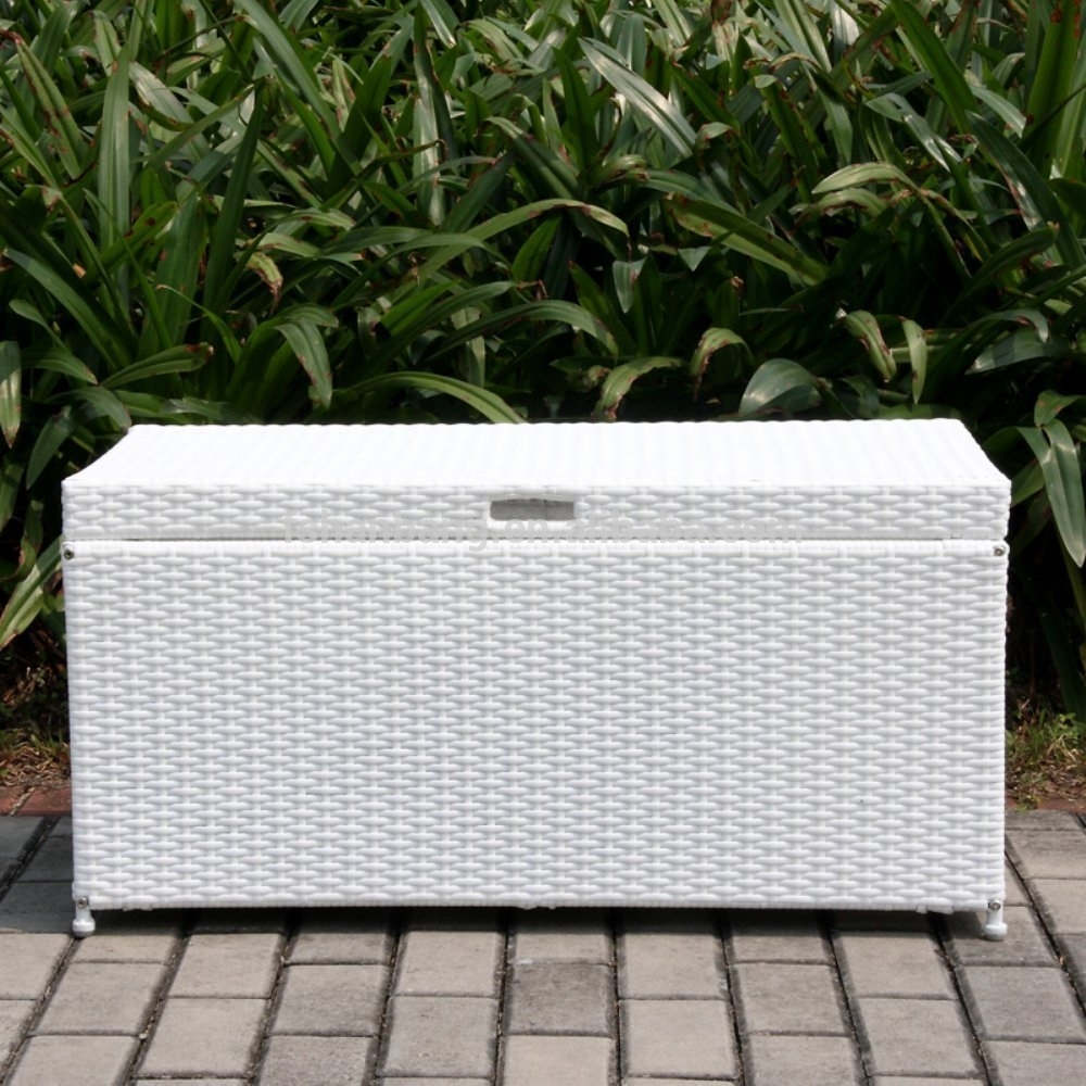 Keter 150 Gallon Deck Box | 200 Gallon Deck Storage Box | Patio Cushion Storage Container