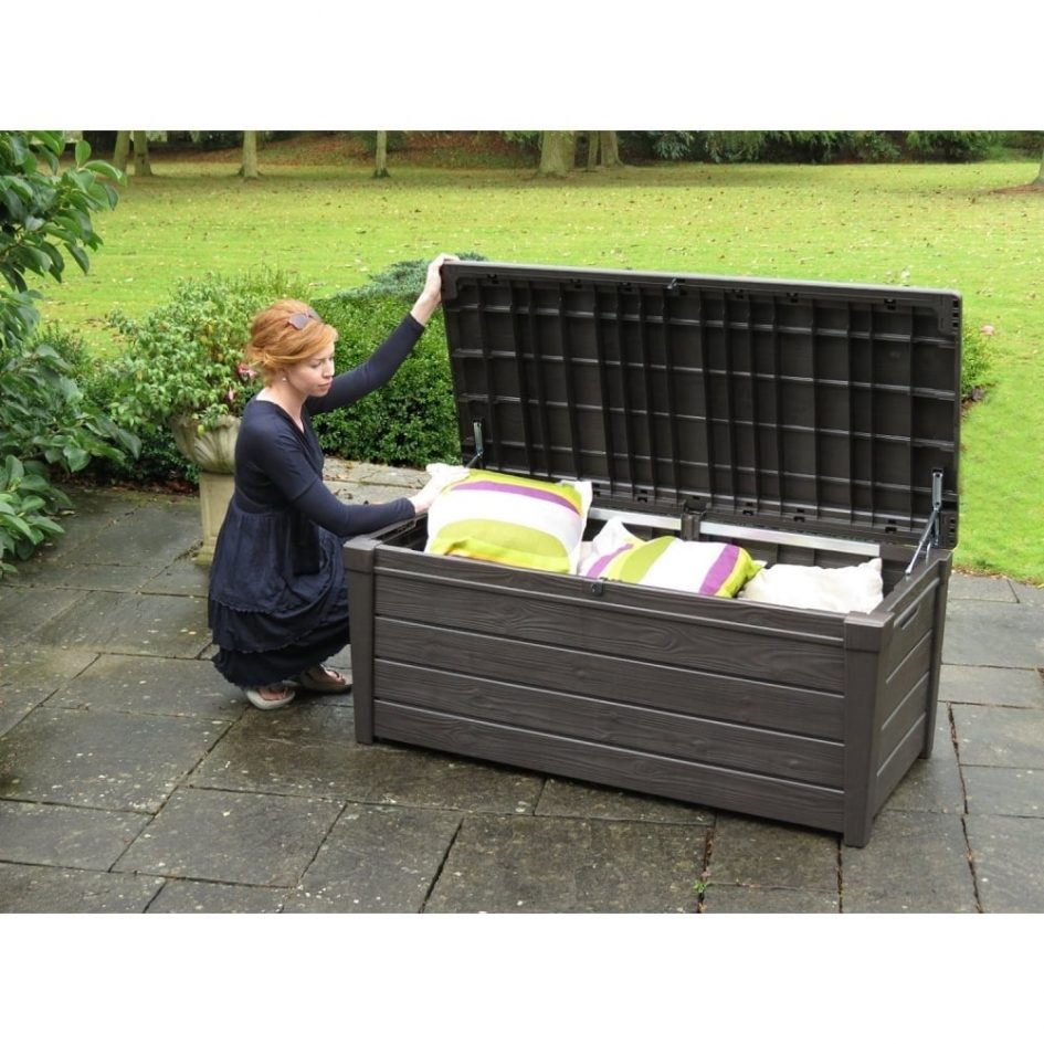 Keter 150 Gallon Deck Box | Costco Outdoor Storage Box | Sams Deck Box