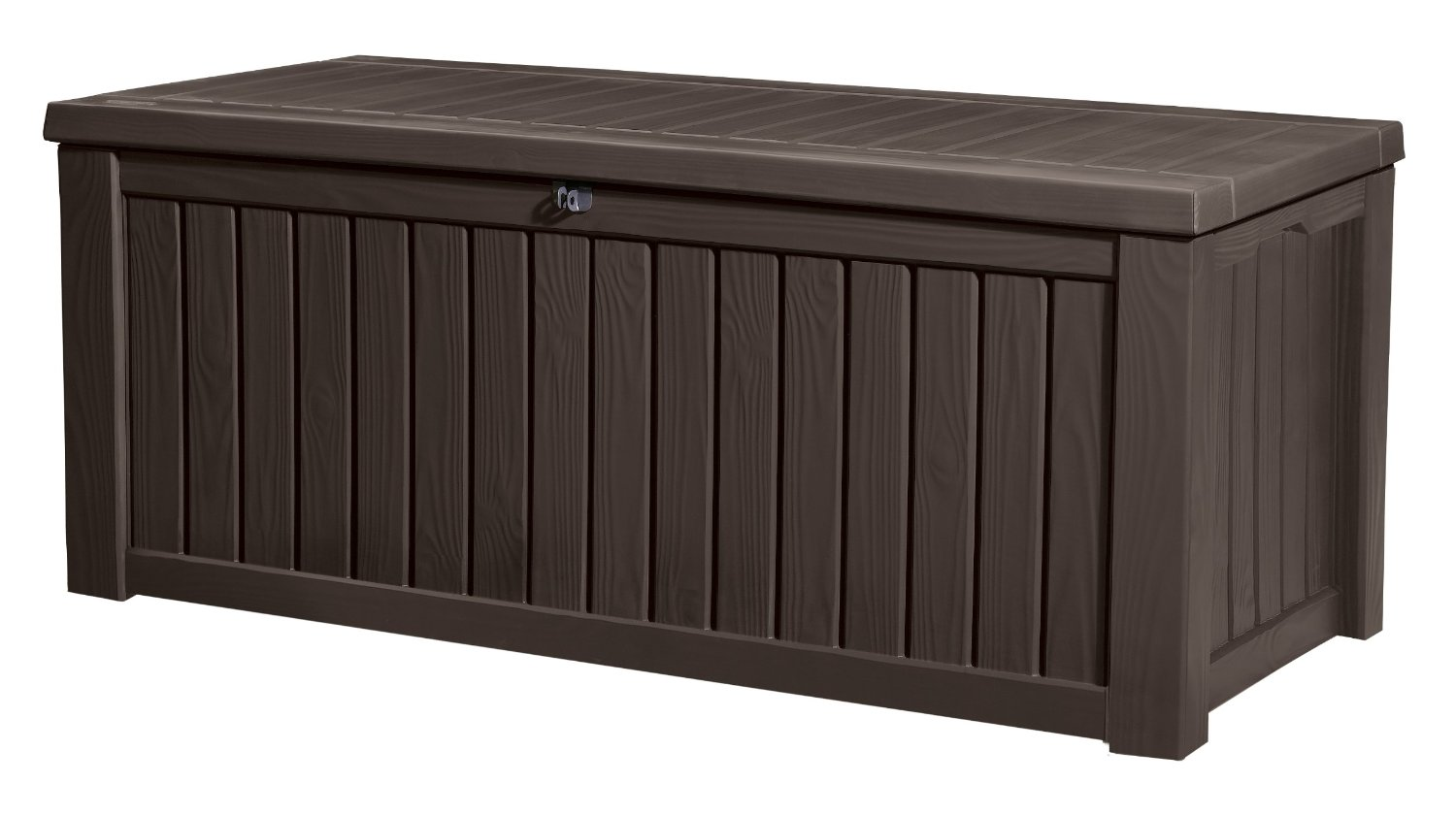 Keter 150 Gallon Deck Box | Rockwood Storage | Keter Rockwood Deck Box