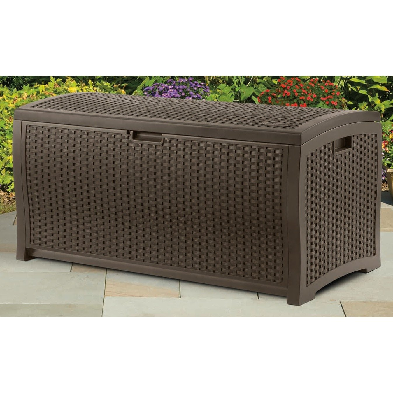 Keter 150 Gallon Deck Box | Sams Deck Box | Outdoor Patio Storage Chest