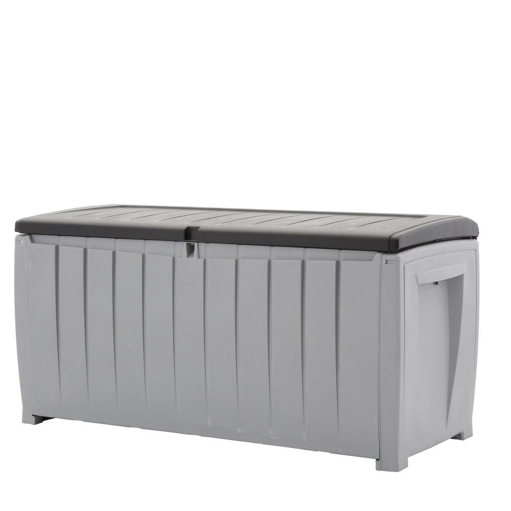 Keter 150 Gallon Deck Box | Suncast Small Deck Box | Keter Box
