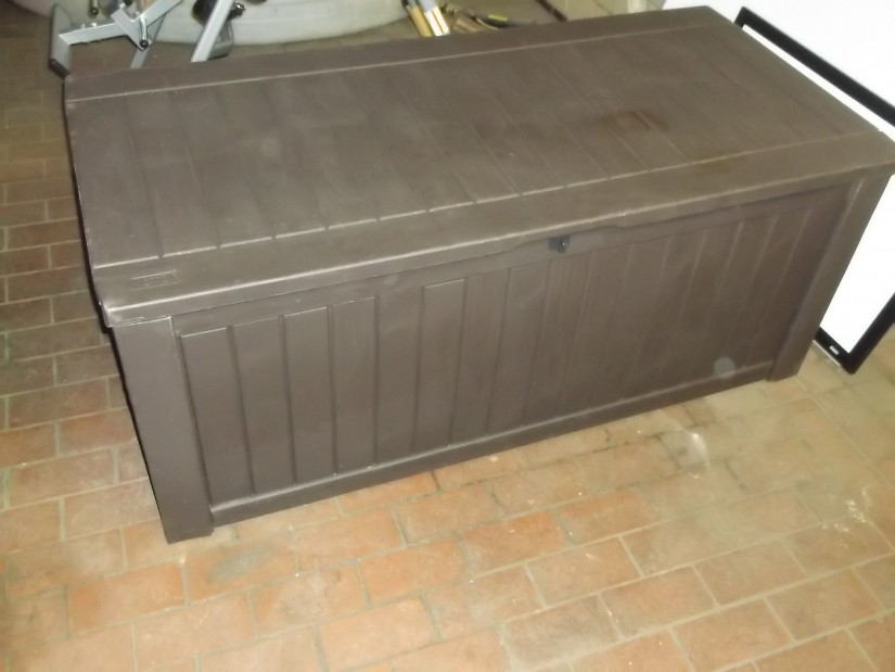 Keter 150 Gallon Deck Box | Suncast Wicker Deck Box | Keter 150 Gallon Patio Storage Bench Deck Box