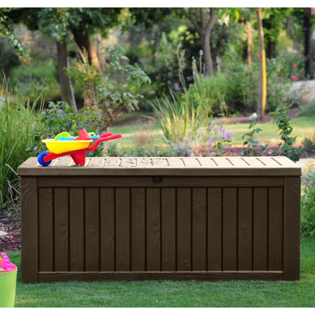 Keter Storage Box | Patio Deck Storage Boxes | Keter 150 Gallon Deck Box