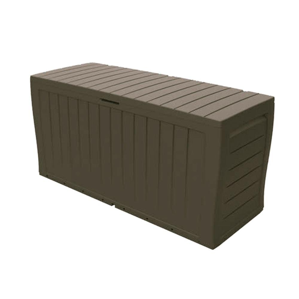 Keter Storage Box with Seat | Keter 150 Gallon Deck Box | Suncast Wicker Deck Box