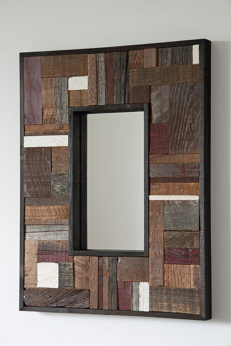 Kirklands Full Length Mirror | Oak Framed Bathroom Mirrors | Reclaimed Wood Mirror