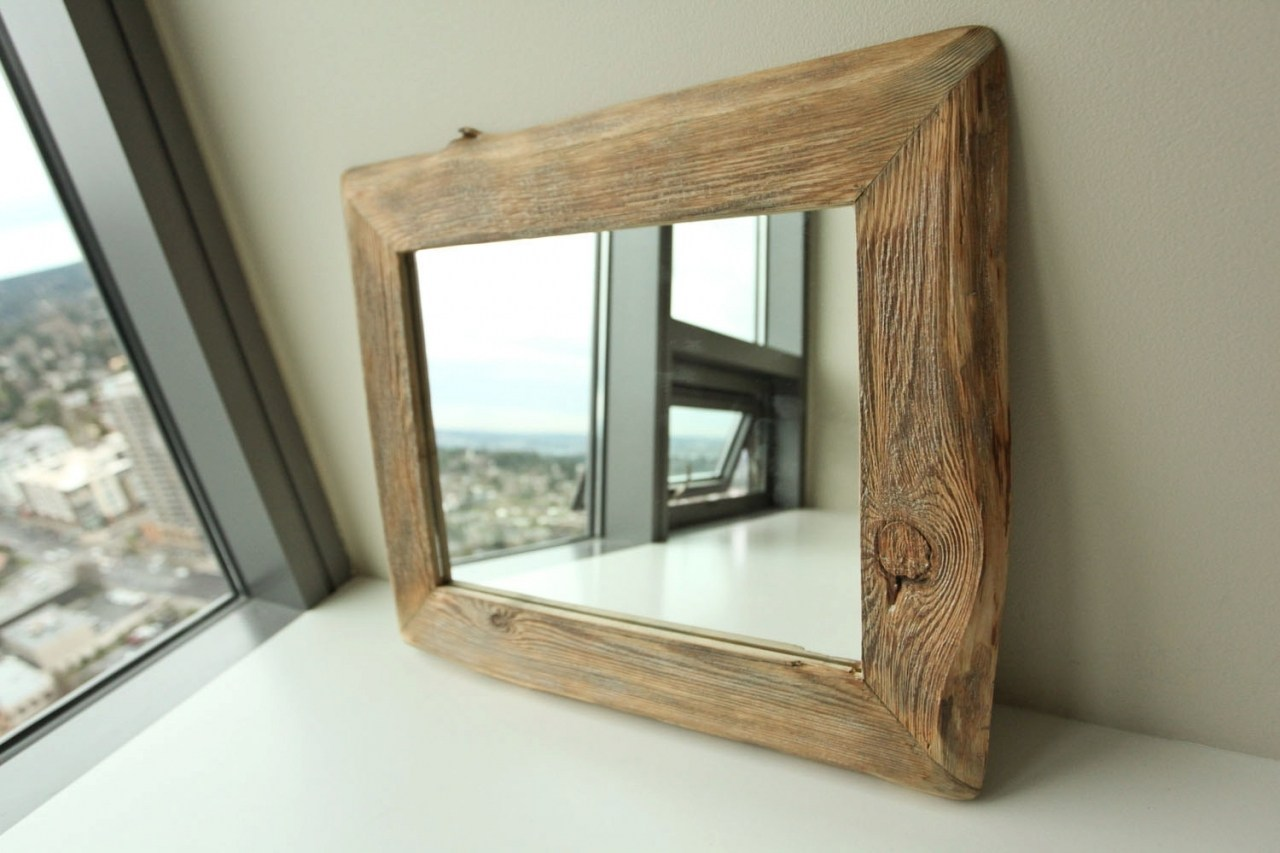 Mirrors: Reclaimed Wood Mirror | Large Distressed Wood Mirror | Full ...