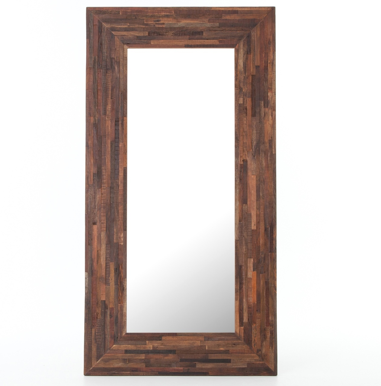 Kirklands Mirror | Rattan Framed Mirrors | Reclaimed Wood Mirror